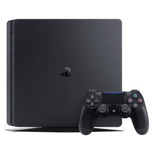 Sony PlayStation 4 Slim (PS4 Slim) - 500GB - Black - Home Gaming Console