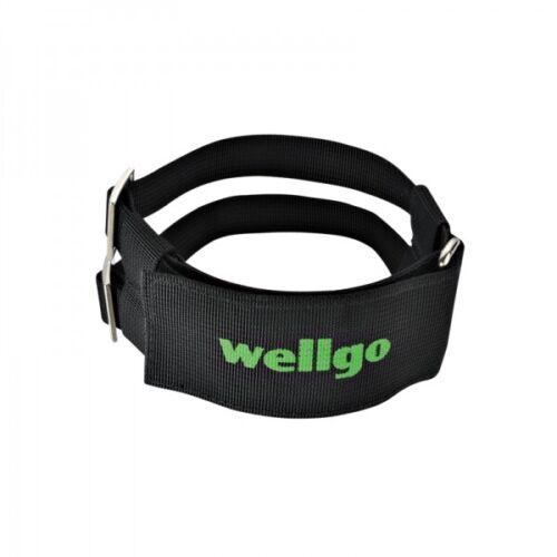 Wellgo W7 W-7 Pro Grip Bike Double Power Pedal Black Toe Straps Fit Wide Boot