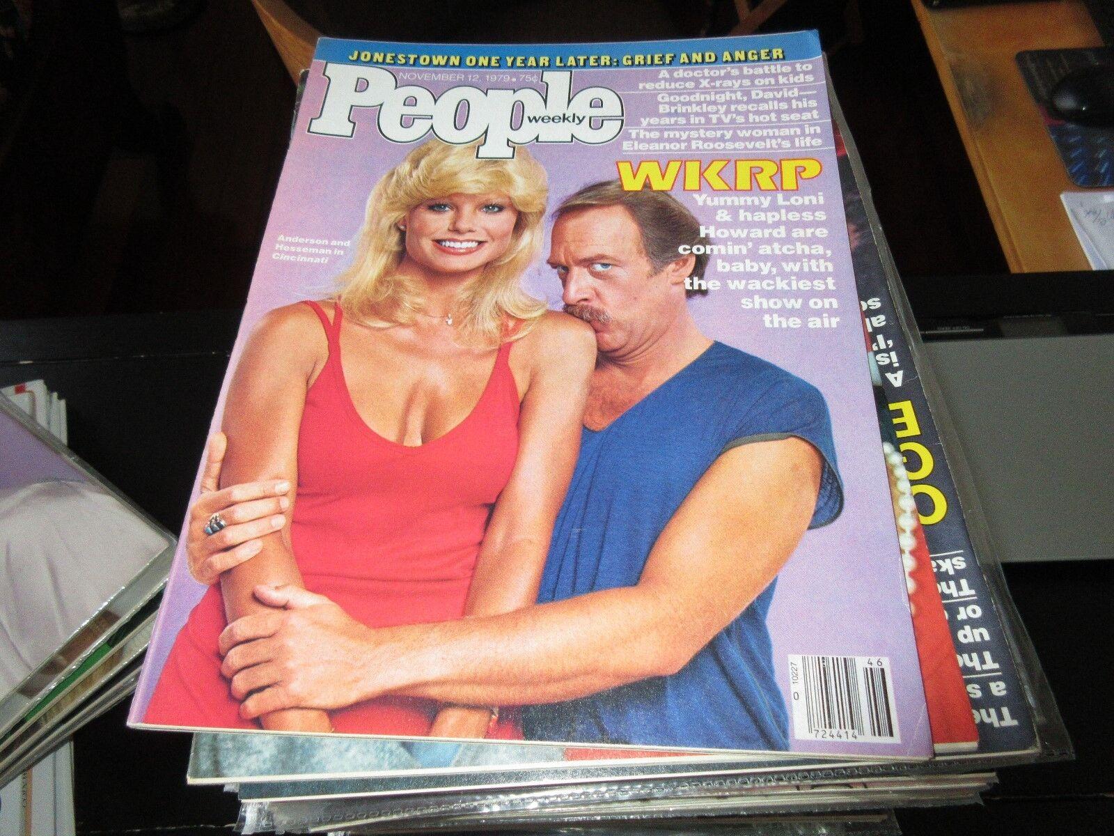 WKRP , Anderson&Hesseman , People Magazine , 11/12/79 ,