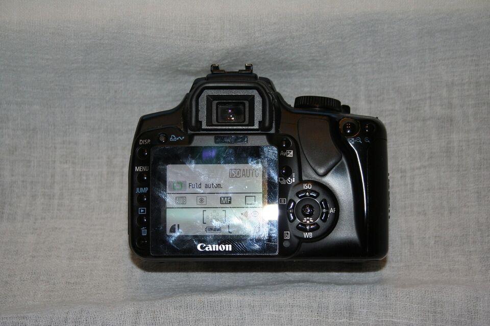 Canon, CANON EOS 400D, spejlrefleks