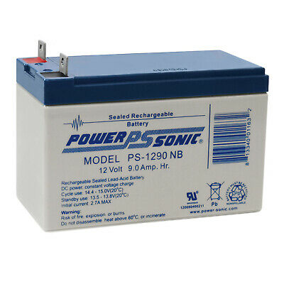 12V 9Ah Nut /& Bolt Compatible Replacement Battery for The Generac XP8000E Generator