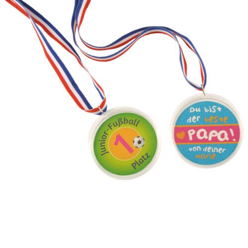 Medaille zum Selbstgestalten Sieger Medaillen Gewinner Super Podium