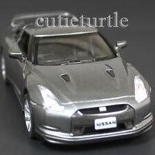 Kinsmart 2009 Nissan Skyline GT R R35 1:36 Diecast Toy Car Grey