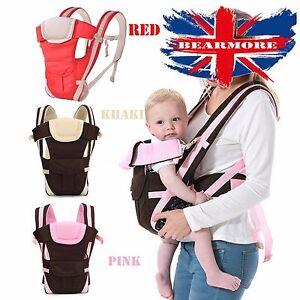 Breathable Ergonomic Infant Baby Carrier Backpack Adjustable Wrap