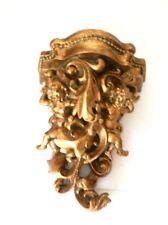 Mensola consolle barocco arredo casa pasta di resina