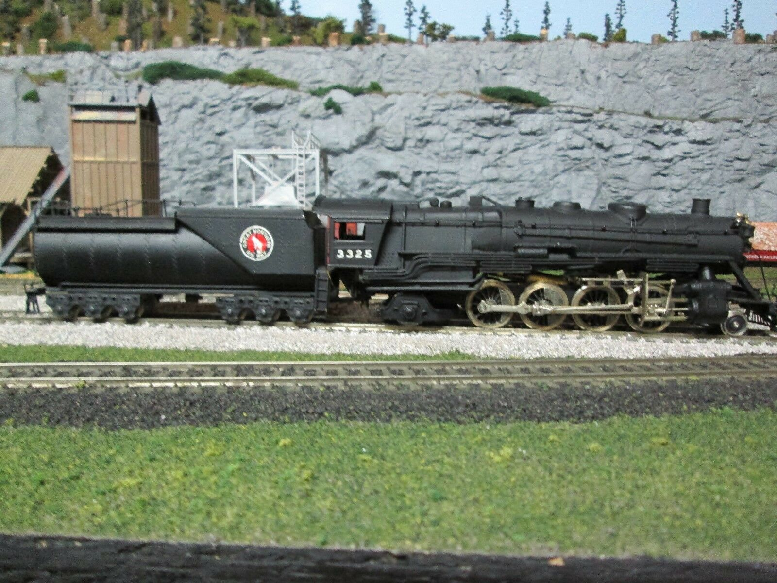 Tenshodo Ho Latón Great Northern 2-8-2 clase O-8  134