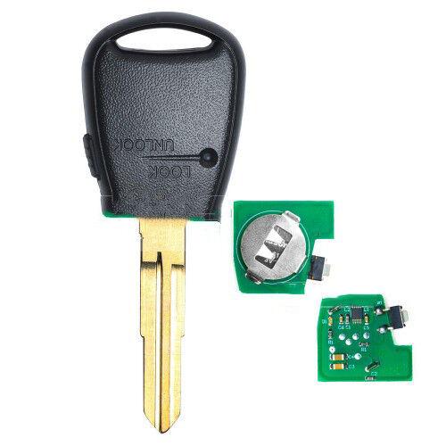 Remote Car Key Fob Side 1 Button 433MHz ID46 for Kia Rio Picanto Soul Venga Ceed