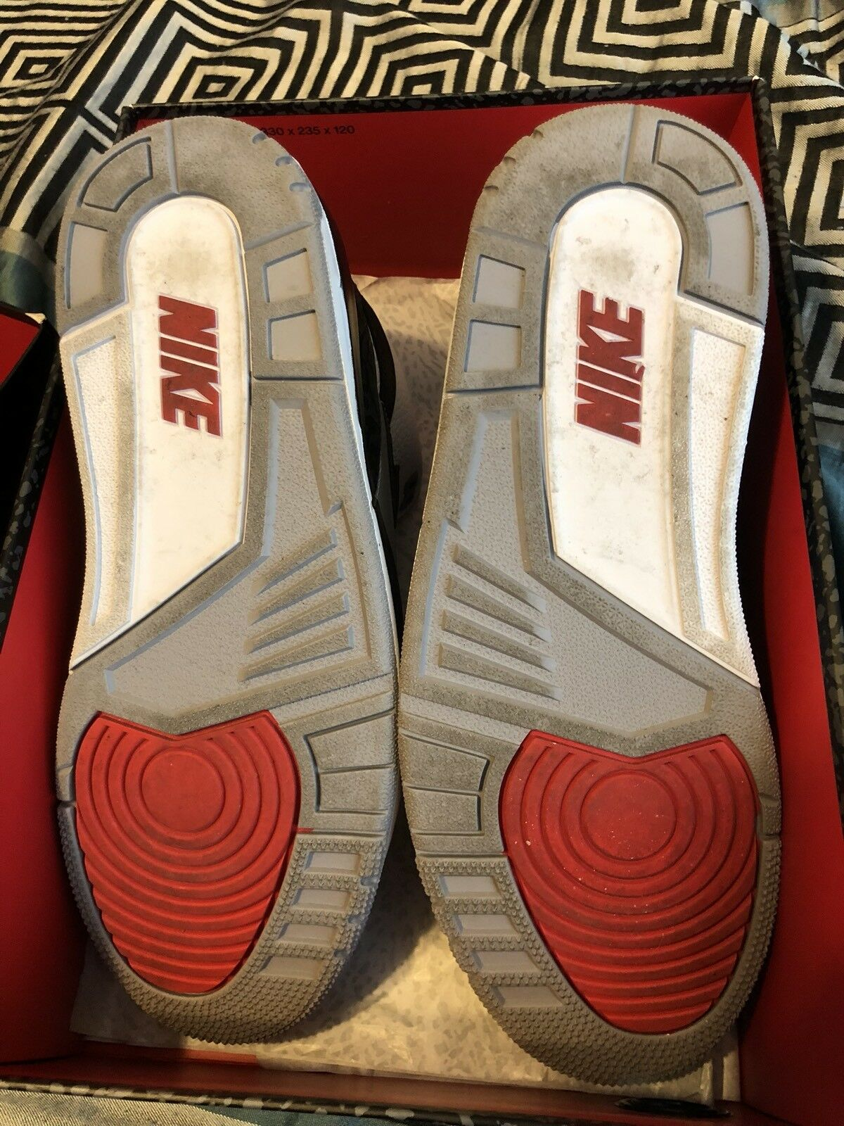 Nike air jordan 3 tinker tinker tinker hatfield iii nrg retro, retro -  9. 41b59b