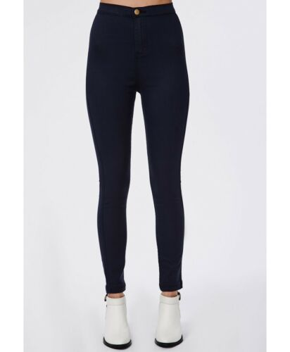 Women HIGH Waisted Jeggings Leggings Trousers Slim Fit Stretch jeans Size 8-14