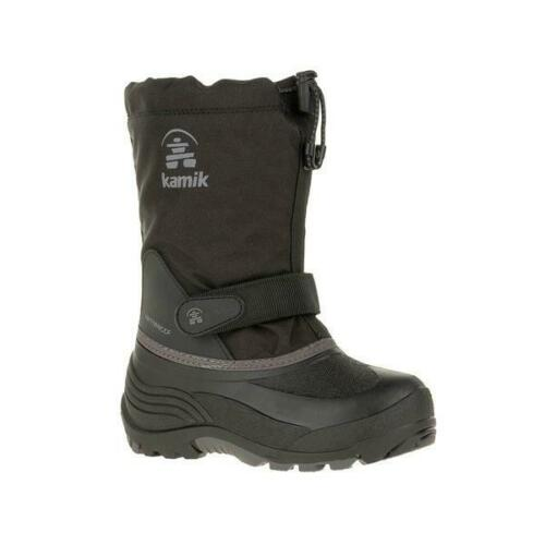 40 Degree Insulated and Waterproof Winter Snow Boots Kamik Waterbug5 Kid/'s