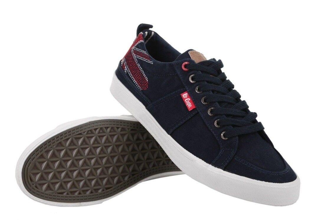 Lee Cooper Herren Sneaker Sneaker Herren RIVERSIDE dunkelblau b625b8
