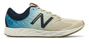 New-Balance-Women-039-s-Fresh-Foam-Zante-v4-Brooklyn-Half-Shoes-Tan-with-Blue