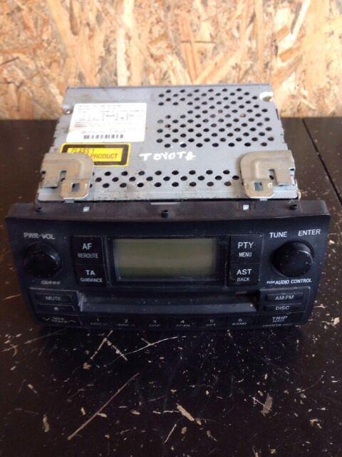 Toyota Corrola 2006 Rhd Radio CD Lecteur W58814 86120-02380