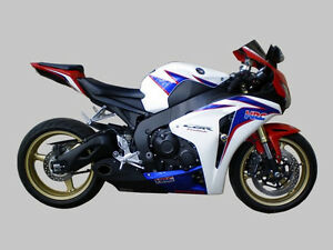 Honda CBR1000RR 2008/11 Exhaust Muffler CS Racing Taylor Made Style ...