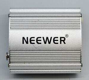 Belle Neewer Nw-100 Phantom Power Supply 18 V Pour Microphone à Condensateur Musique Enregistrement-afficher Le Titre D'origine
