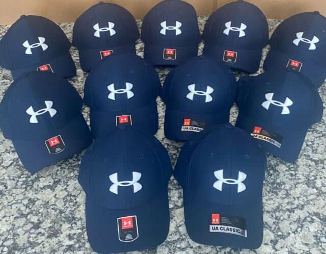 Under Armour Blitzing Hat Mens Fitted Cap Black Size L//XL