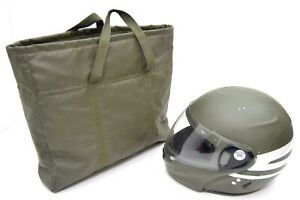 German-Army-Issue-Motorbike-Helmet-Carry-Bag-Hand-Carry-Protective-Padded-Bag