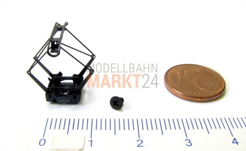 Ersatz-Pantograph  Schraube z.B. für FLEISCHMANN Zahnrad-Elektrolok ET 99 N NEU  | Kaufen Sie beruhigt und glücklich spielen