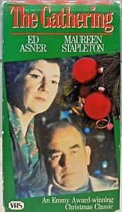 The Gathering VHS Ed Asner Maureen Stapleton Video Emmy winning Christmas Movie