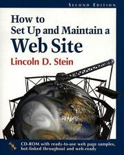 How to Set-up and Maintain a Website by Lincoln D. Stein (1996, CD-ROM /...