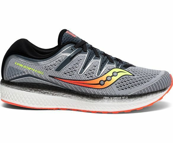 c742198c Saucony S20463-1 Triumph ISO 5 Wide Grey Black Mens Neutral Running Shoes