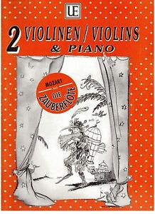 MOZART-039-S-The-Magic-Flute-for-2-Violins-and-Piano-NEW-Music-Book