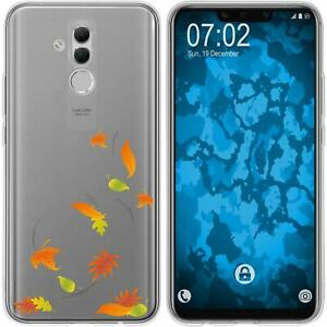 Huawei-Mate-20-Lite-Coque-en-Silicone-automne-M1-Case-films-de-protection