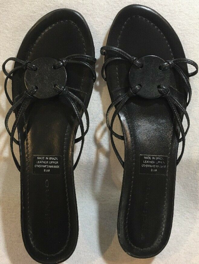 Men/Women Andiamo Womens Black Sandals Size 8.5M Not so expensive on-time the most economical Rich on-time expensive delivery 801b62