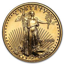 2000 1/10 oz Gold American Eagle Coin - Brilliant Uncirculated - SKU #7248