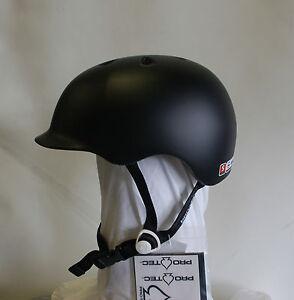 2012 Nib Protec Riot Street Bike Helmet 110 S Matte Black Brand