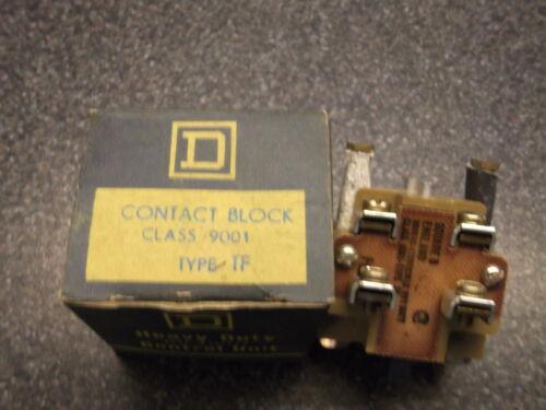 pilot lights etc Square D Contact Block Class 9001 Type TF for pushbutton units