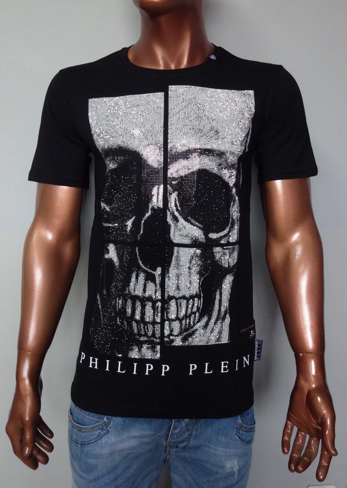 NEU PHILIPP PLEIN T-shirt SS   All of me  Gr. S - XL  SLIM FIT    %%% rot.       eine breite Palette von Produkten