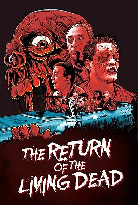 The Return Of The Living Dead Movie Poster Print T309 A4 A3 A2 A1 A0 
