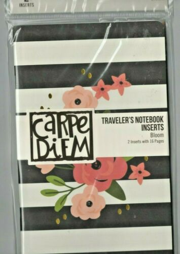 Cute Quick Ship! Carpe Diem TRAVELER/'S NOTEBOOK Inserts~2 varieties So Useful