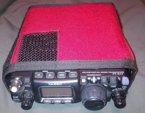 NEW CASE for Mountain Ops Yaesu FT-817 QRP Transceiver Radio Multicam A-TACS Red
