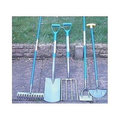 Garden Tools Gardening 5Pc Set Lawn Yard Patio Shovel Fork Rake Hoe Edging Spade