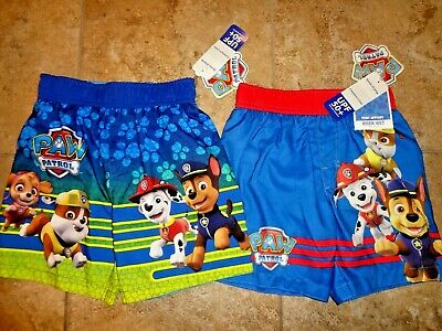Paw Patrol Toddler Boy Swimming Trunks Shorts /& Swim Shirt 4T UPF 50 New