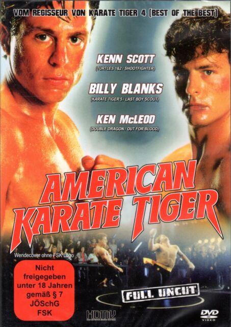 American Karate Tiger , 100% uncut , Neuware , Billy Blanks