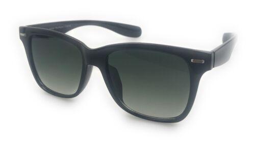 Occhiali da sole neri wayfarir Festival Aviatore Moda Retrò Vintage Geek FULL UV400