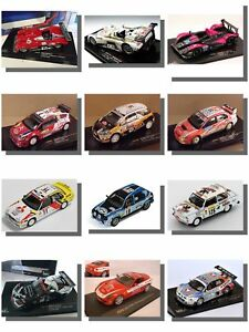 Coches-de-carreras-RALLY-Lemans-IXO-1-43-coches-modelo