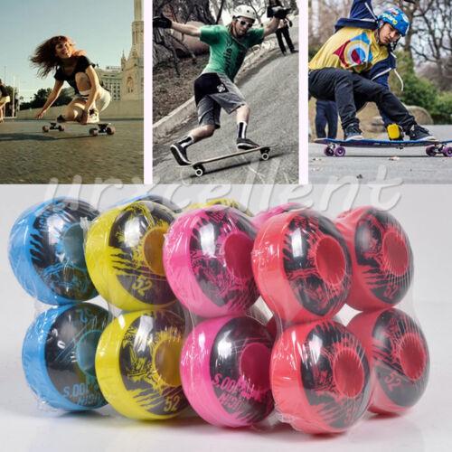 4pcs UGIN Cruiser Longboard Skateboard Wheels Parts PU SHR-100A 52mmX 30mm A Set