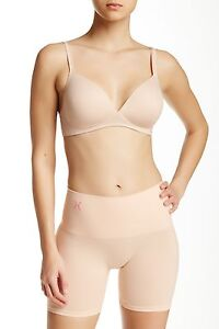 Shapewear Flight Tracker Yummie By Heather Thomson Seamless Shaping Short Yt6-525 In Nude Size L/xl Women's Clothing