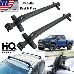 Image Is Loading Car Top Cross Bar Crossbar Roof Rack Clamps