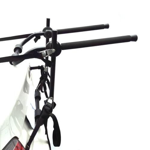 Universal 3 Bike Bicycle Carrier Car Rack Holder Fits Saloon Hatchback Estate