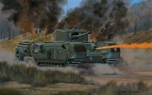 Airfix-A02321V-Churchill-Crocodile-1-76-Maquette-Kit-Neuf