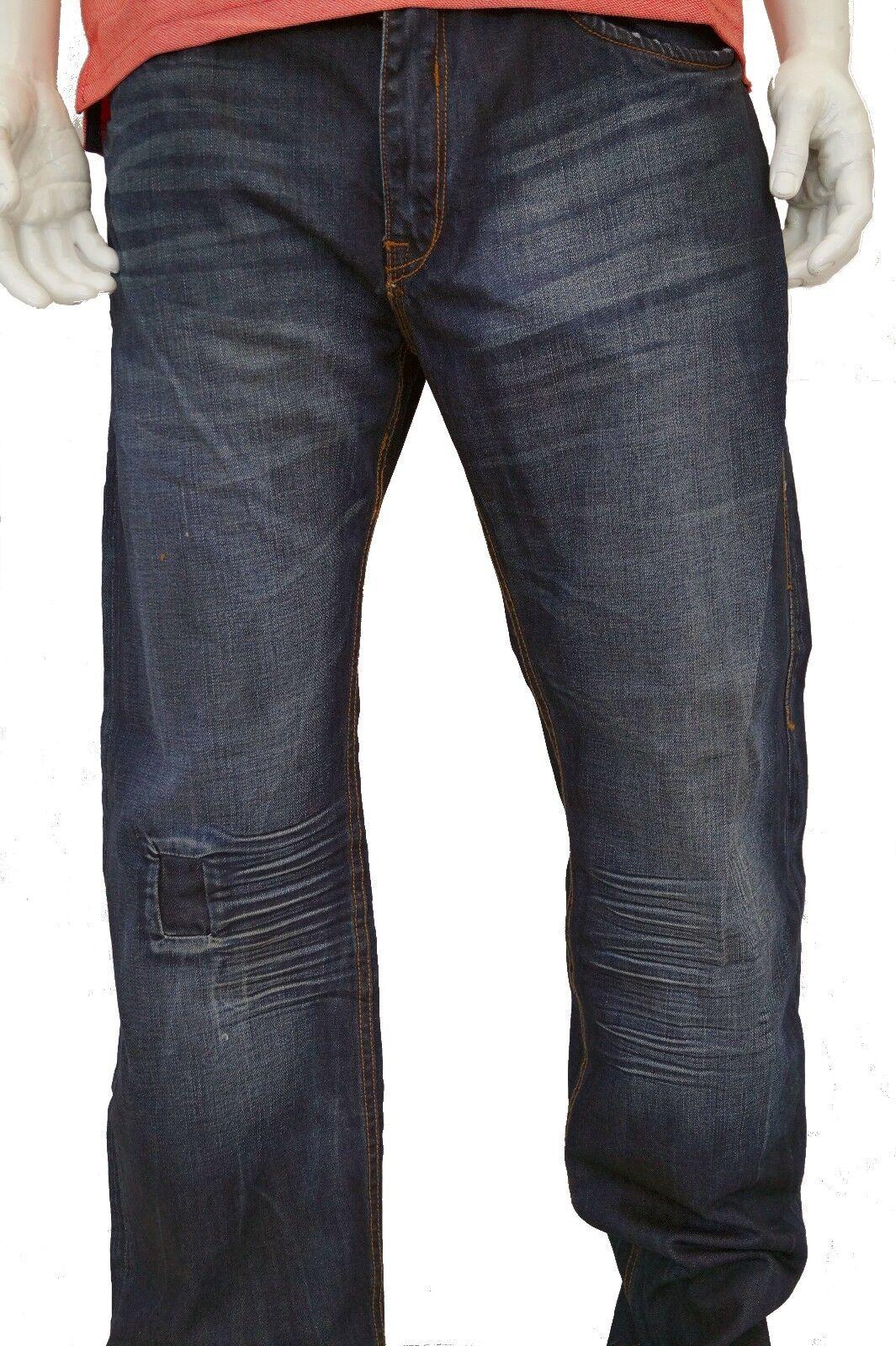 Rocawear Uomo Original Original Original Fit Uomo Jeans mano pesante 343a5b