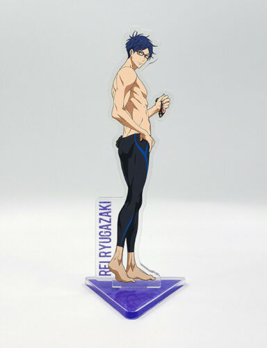 Dive to the Future Nanase Haruka Rin Hazuki Acrylic Stand Figure Anime Free