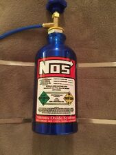 Artificial Nos Expansion Bottle Nitrous Oxide Streetfighter Custom BIke