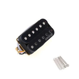 Wilkinson-Black-Vintage-Tone-Alnico-5-Open-Humbucker-50mm-Guitar-Neck-Pickup
