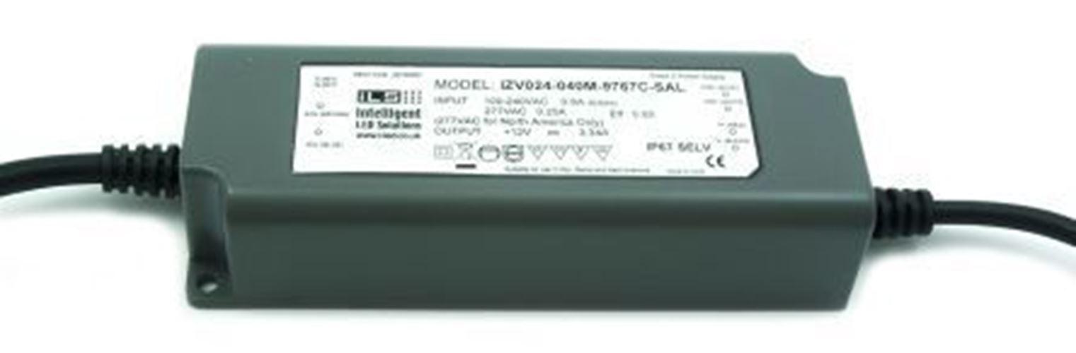 ILS IZV024-040M-9767C-SAL, Constant Voltage 0-10 V PWM Resistance LED Driver Mod